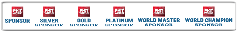 PHIT World Sponsor Colllage Logo