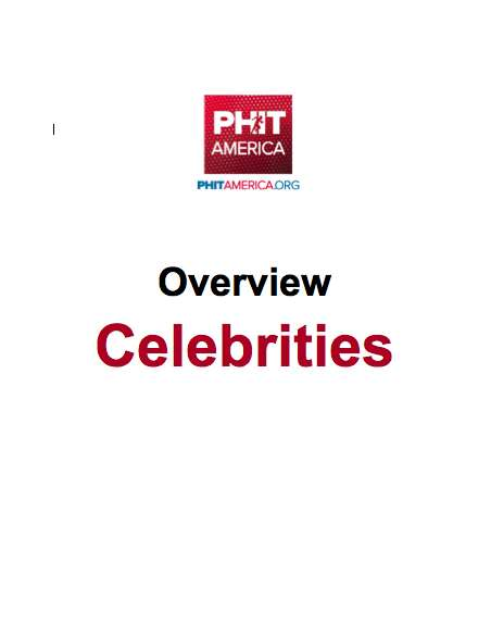 Celeb Overview Graphic